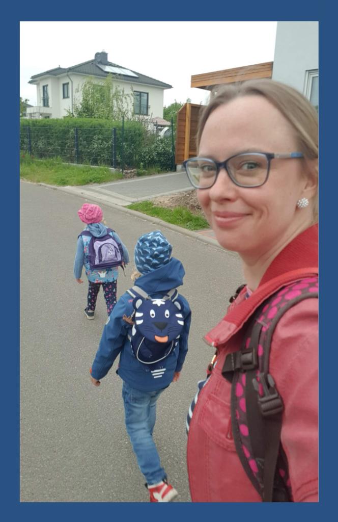 Spaziergang mit den Kids